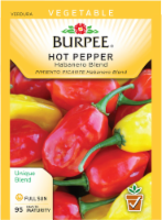 Burpee Habanero Blend Hot Pepper Seeds - 1 ct