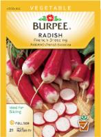 Burpee French Dressing Radish Seeds