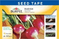 Burpee Sparkler Radish Seed Tape