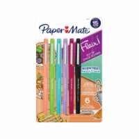 Paper Mate® Flair Sunday Brunch Scented Pens - Assorted - 6 pk