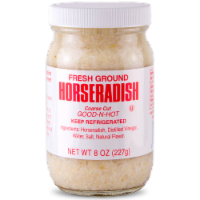 Silver Spring Fresh Ground Horseradish Sauce