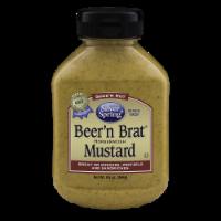 Silver Spring® Beer'n Brat® Horseradish Mustard - 9.5 oz