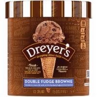 Dreyer's/Edy's Double Fudge Brownie Ice Cream