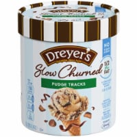 Dreyer's/Edy's Slow Churned No Sugar Added Fudge Tracks Light Ice Cream