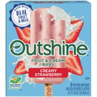 Outshine Creamy Strawberry Fruit & Cream Bars