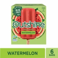 Outshine Watermelon Fruit Ice Bars - 6 ct / 2.45 fl oz