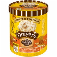 Dreyer's/Edy's Slow Churned Peanut Butter Cookie Dough Light Ice Cream