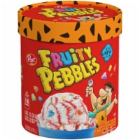 Fruity Pebbles Cereal Milk Ice Cream