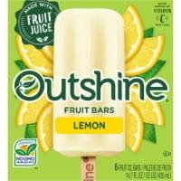 Outshine Lemon Fruit Ice Bars - 6 ct / 2.45 fl oz