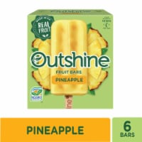 Outshine Pineapple Fruit Bars 6 Count