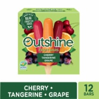 Outshine Cherry Tangerine & Grape Assorted Fruit Ice Bars