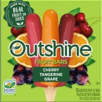 Outshine Cherry Tangerine & Grape Assorted Fruit Ice Bars - 12 ct / 18 fl oz