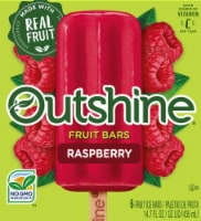 Outshine Raspberry Fruit Ice Bars