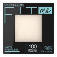 Maybelline Fit Me Matte & Poreless 100 Transluscent Face Powder - 1 ct