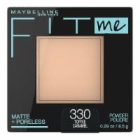 Maybelline Fit Me Matte + Poreless 330 Toffee Caramel Pressed Face Powder