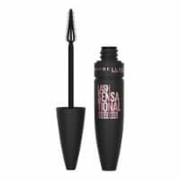 Maybelline Lash Sensational Luscious Blackest Black Washable Mascara