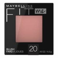 Maybelline Fit Me 20 Mauve Blush - 1 ct