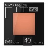 Maybelline Fit Me Peach Blush
