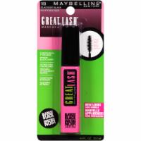 Maybelline Great Lash 100 Blackest Black Washable Mascara