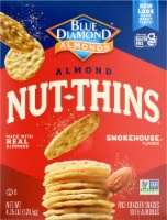 Blue Diamond Smokehouse Nut-Thins Cracker Snacks
