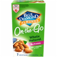 Blue Diamond Whole Natural Almonds 100 Calorie Bags