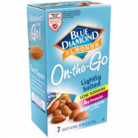 Blue Diamond On-the-Go Low Sodium 100 Calorie Almond Packs 7 Count