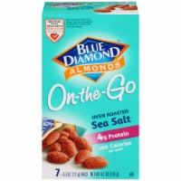 Blue Diamond Oven Roast Sea Salt Almonds On-the-Go Packs