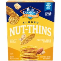 Blue Diamond Pepper Jack Cheese Nut-Thins Cracker Snacks