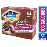 Blue Diamond On-the-Go Oven Roasted Dark Chocolate 100 Calorie Almond Packs