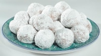 Bakery Fresh Powdered Sugar Cake Donut Holes