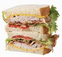 Oven Roasted Turkey Club Sandwich