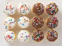 Bakery Fresh Mini Yellow Cupcakes - 12 ct