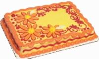 1/4 Sheet Buttercream White Cake