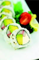 Philly Maki Avocado Sushi NOT AVAILABLE BEFORE 11:00 AM DAILY
