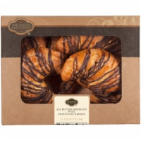 Private Selection All Butter Croissant With Chocolate Drizzle
