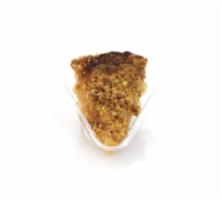 Private Selection Baked Apple Streusel Pie Slice
