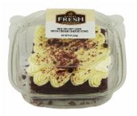 Bakery Fresh Goodness Red Velvet Cake with Cream Cheese Icing Slice - 8 oz