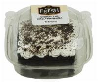 Bakery Fresh Goodness Chocolate Cake with Vanilla Whipped Icing Slice - 6 oz