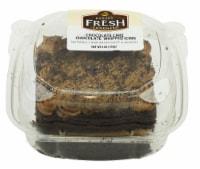 Bakery Fresh Goodness Chocolate Cake with Chocolate Whipped Icing Slice - 6 oz