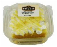 Bakery Fresh Goodness Yellow Cake with Whipped Icing & Lemon Filling Slice - 6 oz