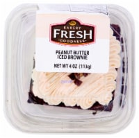 Bakery Fresh Goodness Peanut Butter Iced Brownie