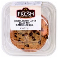 Bakery Fresh Goodness Chocolate Chip Cookie Filled with Buttercreme Icing - 4 oz