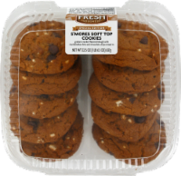 Bakery Fresh Goodness S'mores Soft Top Cookies - 10 ct / 22.5 oz
