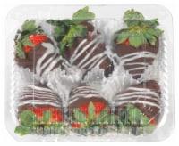 Chocolate Dipped Strawberries - 6 ct / 9 oz