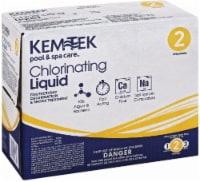 Kem-Tek Chlorinating Liquid - 2 - 128 fl oz (1 gl)