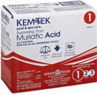 Kem-Tek Swimming Pool Muriatic Acid - 2 Pack - 2 ct / 1 gal
