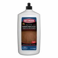 Weiman  High Traffic  High Gloss  Hardwood Floor Polish & Restorer  Liquid  32 oz. - Case Of: