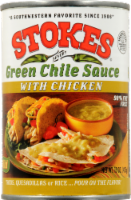 Stokes Green Chile Sauce with Chicken - 15 Oz
