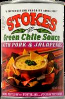 Stokes Green Chile Sauce with Pork & Jalapeno - 15 Oz