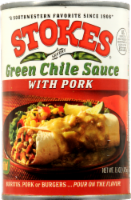 Stokes Green Chile Sauce with Pork - 15 Oz
